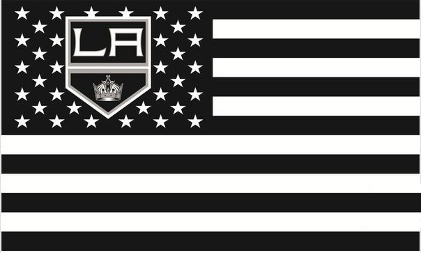 NHL Los Angeles Kings Bayrak 3X5 FT 150X90 cm 100D polyester banner bayrak 1139