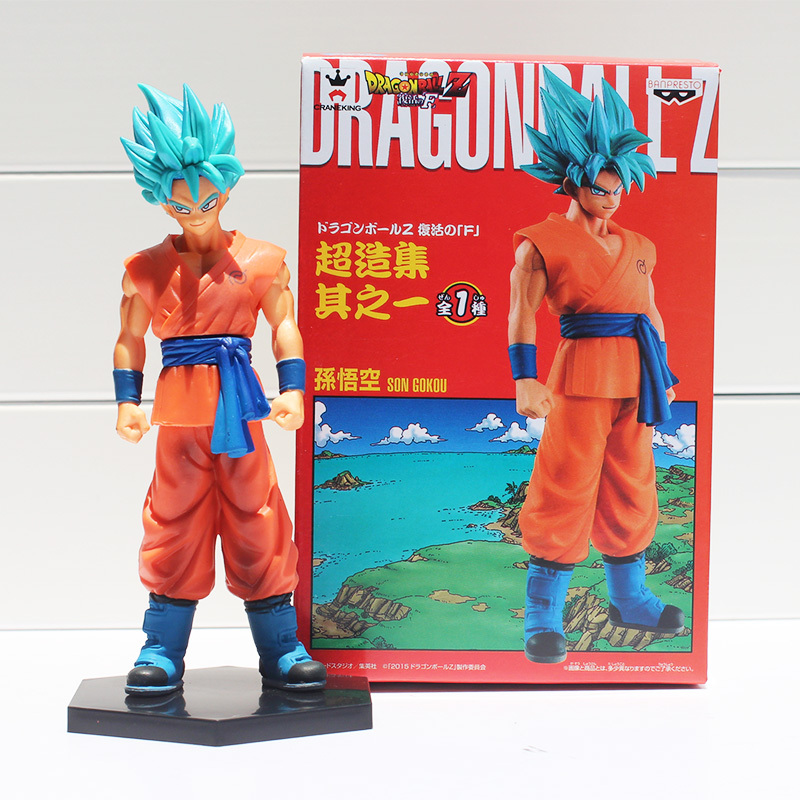Dragon Ball Z Diriliş F Oğlu Gokou PVC Action Figure Koleksiyon Model Oyuncak 7 18 cm